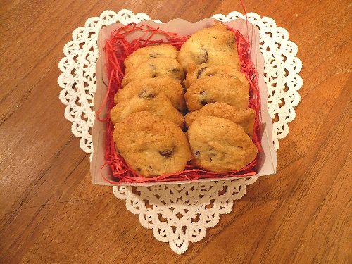 チョコチップクッキー♪..。.゚。*・。♡ _a0053662_19434322.jpg