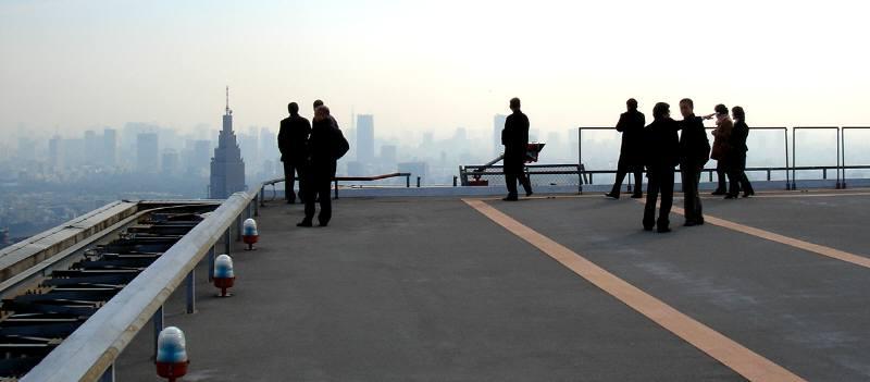 東京都防災センターとヘリポート視察_f0059673_2033430.jpg