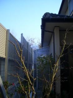 フェンス工事_b0078597_21344752.jpg