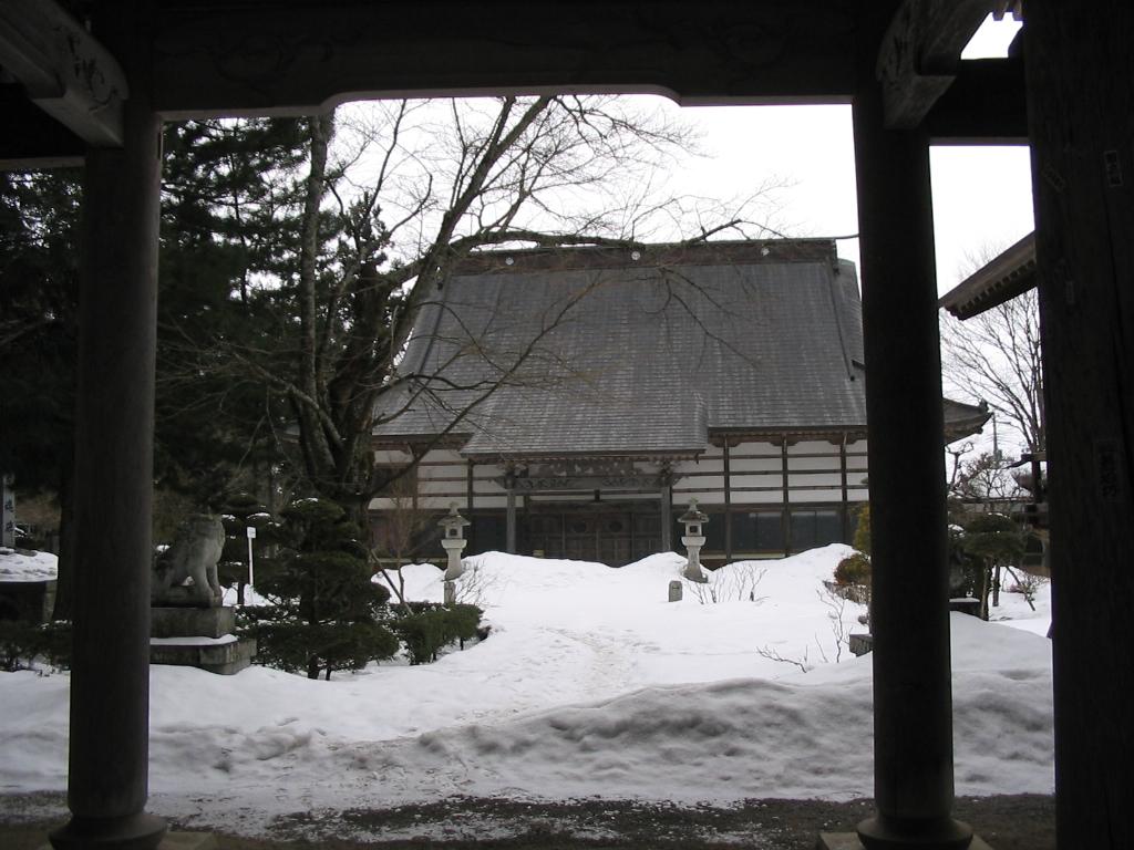 雪の山門_d0001843_20363620.jpg