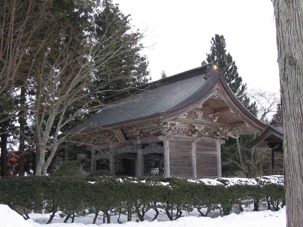 雪の山門_d0001843_20545086.jpg