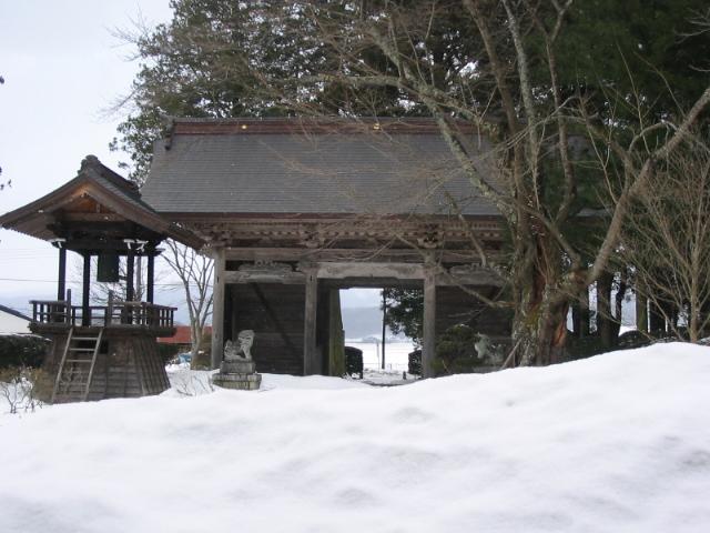 雪の山門_d0001843_20591633.jpg