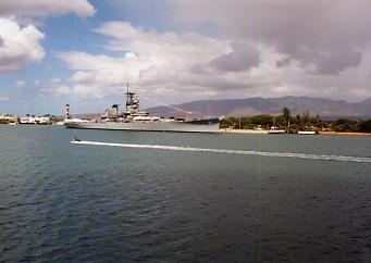 ハワイの風景 (3) 戦艦ミズーリ_c0011649_8213438.jpg