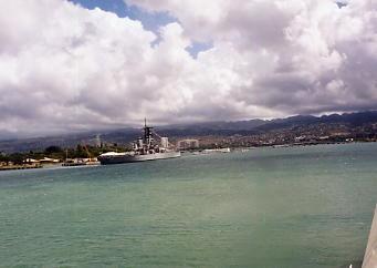 ハワイの風景 (3) 戦艦ミズーリ_c0011649_8215236.jpg
