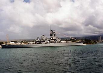 ハワイの風景 (3) 戦艦ミズーリ_c0011649_8221180.jpg