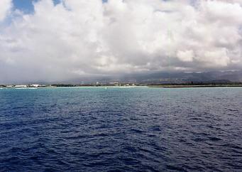 ハワイの風景 (3) 戦艦ミズーリ_c0011649_8242522.jpg