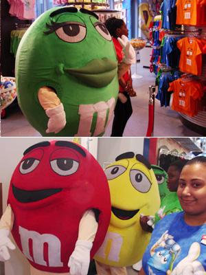 M&M\'sに学ぶマーケティングの本質 -M&M\'s World Store NYC_b0007805_916124.jpg