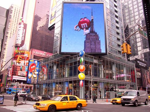 M&M\'sに学ぶマーケティングの本質 -M&M\'s World Store NYC_b0007805_9165984.jpg