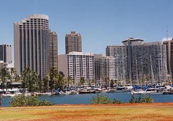 ハワイの風景 (4) ハワイ的、あまりにハワイ的な風景_c0011649_1275514.jpg