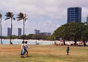 ハワイの風景 (4) ハワイ的、あまりにハワイ的な風景_c0011649_129732.jpg
