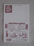 What ever glove - 4人の手袋展_f0117399_22261888.jpg