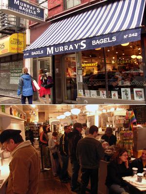 ニューヨークのべーグル屋さん(4) Murray\'s Bagels_b0007805_2013884.jpg