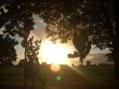あまりにも夕日が綺麗で_e0113805_6282370.jpg