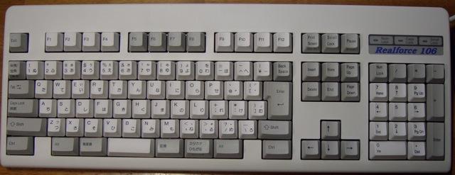 東プレのキーボード_c0064553_21461275.jpg