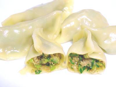 麺ではないが、粉モンということで「水餃子」_c0092877_22171730.jpg