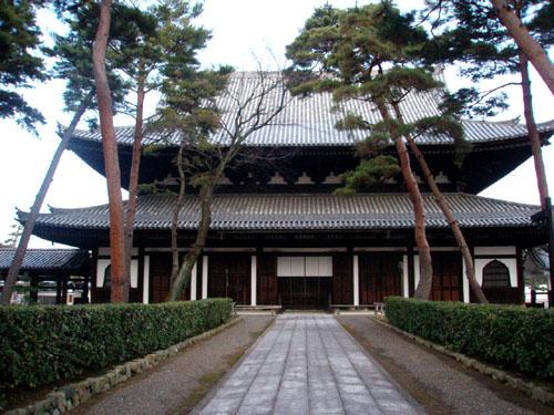 相国寺法堂と塔頭普廣院_e0048413_21542639.jpg