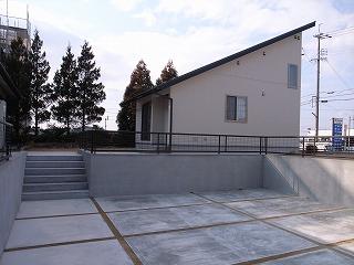 「3.5間角の家」 (12.3坪の家) 外構工事_f0059988_15195934.jpg