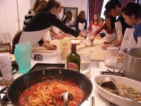 カリフォルニア大学の料理講習@Scuola di cucina di Lella_f0090286_059158.jpg