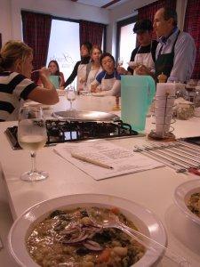 カリフォルニア大学の料理講習@Scuola di cucina di Lella_f0090286_10452.jpg