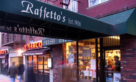生パスタが美味しい老舗イタリア食材店 Raffetto\'s(ラフェトス)_b0007805_1232212.jpg
