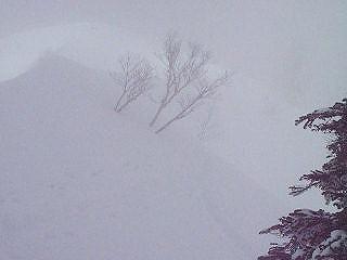 平瀬尾根から三方崩山_e0064783_22391218.jpg
