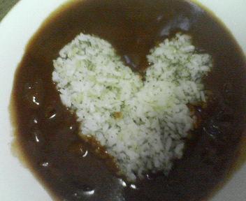 ご飯~バレンタイン仕様?!_e0114246_0452951.jpg