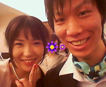 結婚式~( >ω<)ノ_e0114246_1345745.jpg