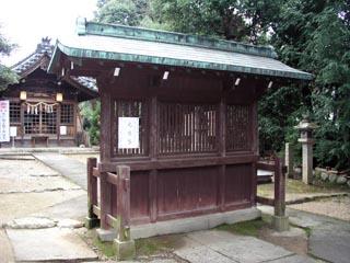 名古屋市千種区田代山神社の蕃塀_e0113570_2234791.jpg