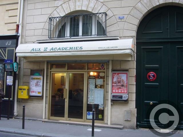■街角のキャフェAUX 2 ACADEMIES(PARIS)_a0014299_8424832.jpg