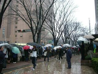 東京マラソンの沿道で_a0057402_11402437.jpg