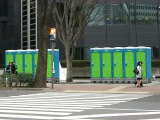 東京マラソンの沿道で_a0057402_1195089.jpg