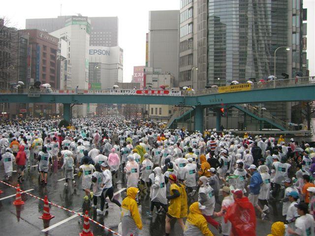 東京マラソンの沿道で_a0057402_12151479.jpg