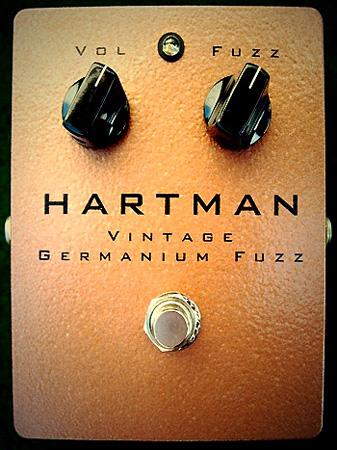 HARTMAN ElectronicsのGermanium Fuzz_e0053731_18403455.jpg
