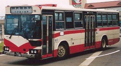 加賀温泉バス 三菱P-MP618M +三菱_e0030537_18363.jpg