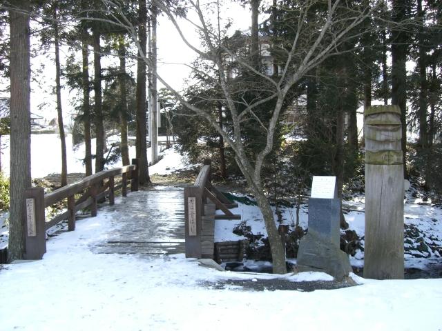 小雪ちらつく中、伝承園 + 昨日のカッパ淵_d0001843_11173592.jpg