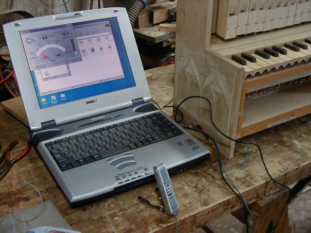 ポルタティーフ・オルガン製作記 Making Portative Organ No.8_e0064847_17375912.jpg