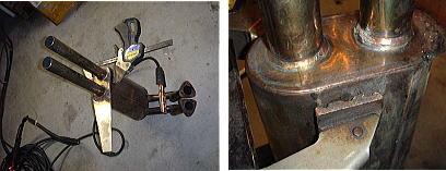 アバルト850TC マフラー修理_d0027711_1354813.jpg