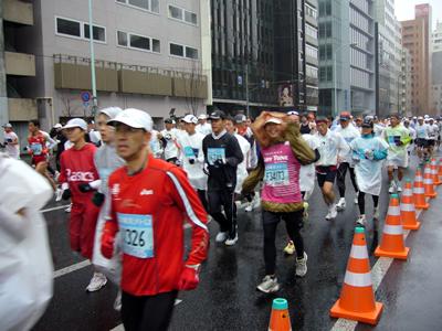東京マラソンの応援に行ってきました_e0048332_11205043.jpg