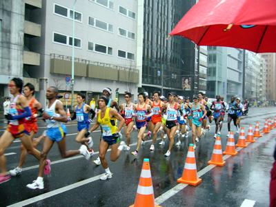 東京マラソンの応援に行ってきました_e0048332_11212157.jpg
