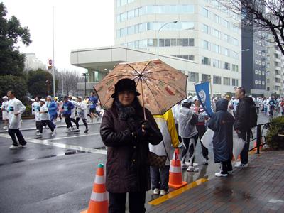東京マラソンの応援に行ってきました_e0048332_11305750.jpg