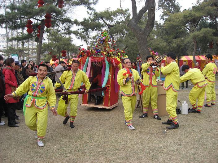 お正月祭り(春节庙会)地壇公園_f0056261_2320513.jpg