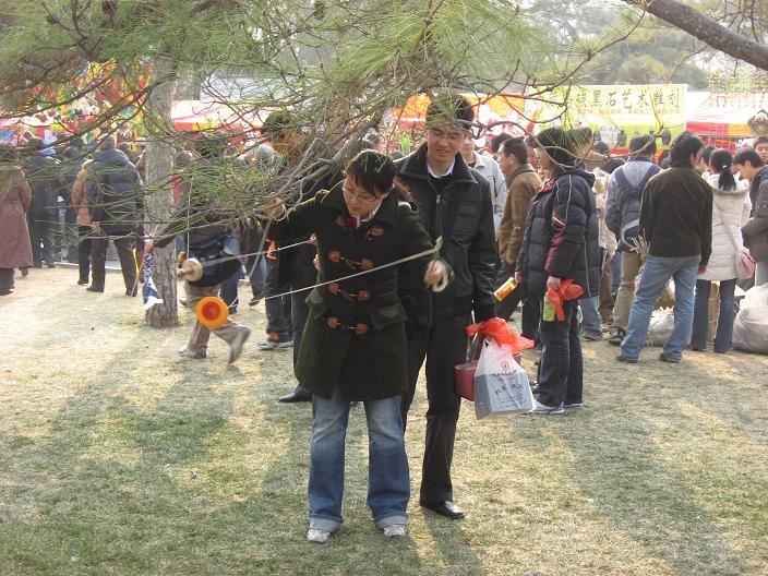 お正月祭り(春节庙会)地壇公園_f0056261_23495340.jpg