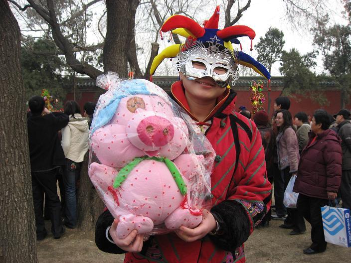 お正月祭り(春节庙会)地壇公園_f0056261_2358854.jpg