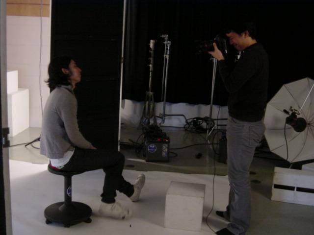 Photo shoot at aoyama studio with 長谷良樹氏_f0102075_19152965.jpg