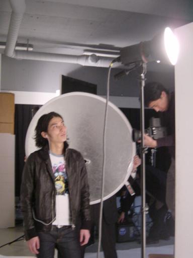 Photo shoot at aoyama studio with 長谷良樹氏_f0102075_1942401.jpg