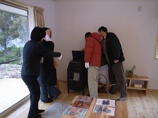 「3.5間角の家」 (12.3坪の家) 完成見学会_f0059988_12583591.jpg