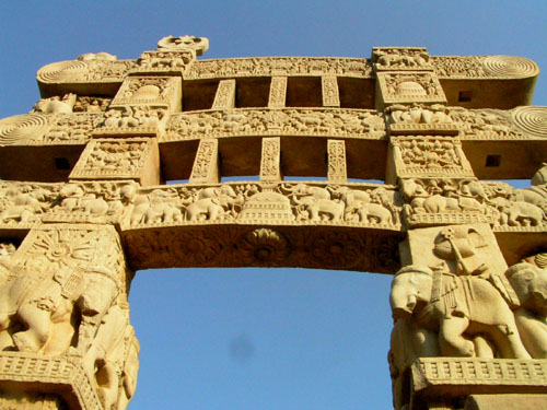 インド6 サンチーの大ストウーパ_e0048413_21564139.jpg
