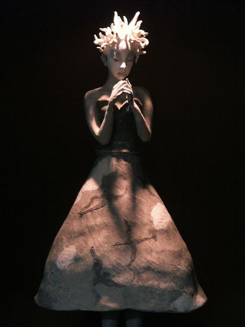 結城美栄子……独特の世界観 テーブル・セッティング展。_e0044929_1853151.jpg
