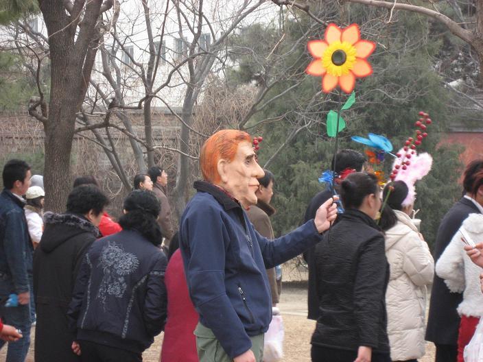お正月祭り(春节庙会)地壇公園_f0056261_11354922.jpg