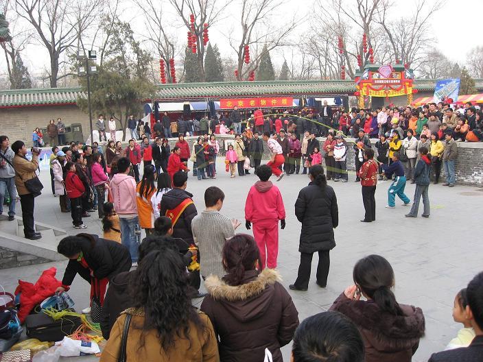 お正月祭り(春节庙会)地壇公園_f0056261_11432733.jpg
